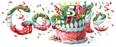 italybday11 hp1 Top 50 Google Doodles from 2011