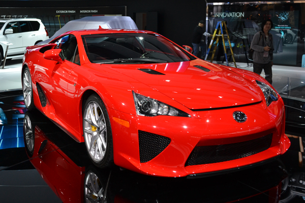 lexus lfa 2012 North American International Auto Show by Ford Motors