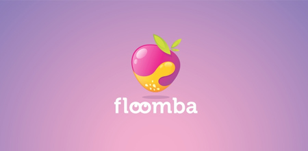 logo design ideas 01 floomba1 40 Flourishing Fruit and Vegetable Logo Designs