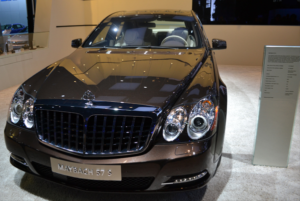 maybach 57 s 2012 North American International Auto Show by Ford Motors