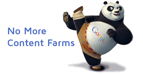 no more content farms 3 Ideas for Boosting Your Blogs Traffic After a Drop