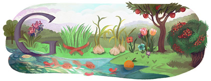 persiannewyear11 hp1 Top 50 Google Doodles from 2011
