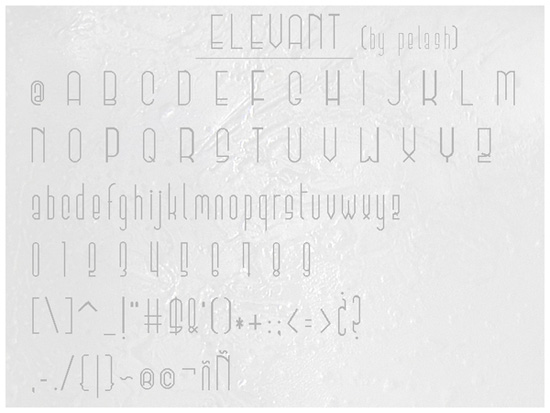 Download 25 Well Crafted Free Minimal Fonts - Inspirationfeed