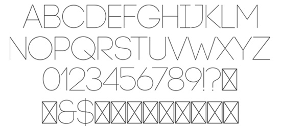 post 3 351 25 Well Crafted Free Minimal Fonts