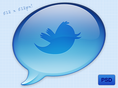 psd release preview1 45+ Delicious Free Twitter Icons and Resources