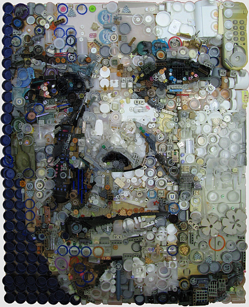 ryan 5001 Zac Freeman Transforms Junk into Artwork