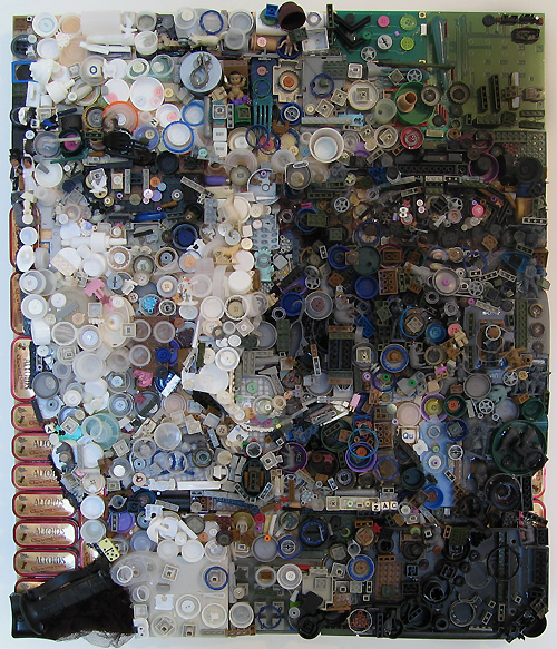 self 0003 5001 Zac Freeman Transforms Junk into Artwork