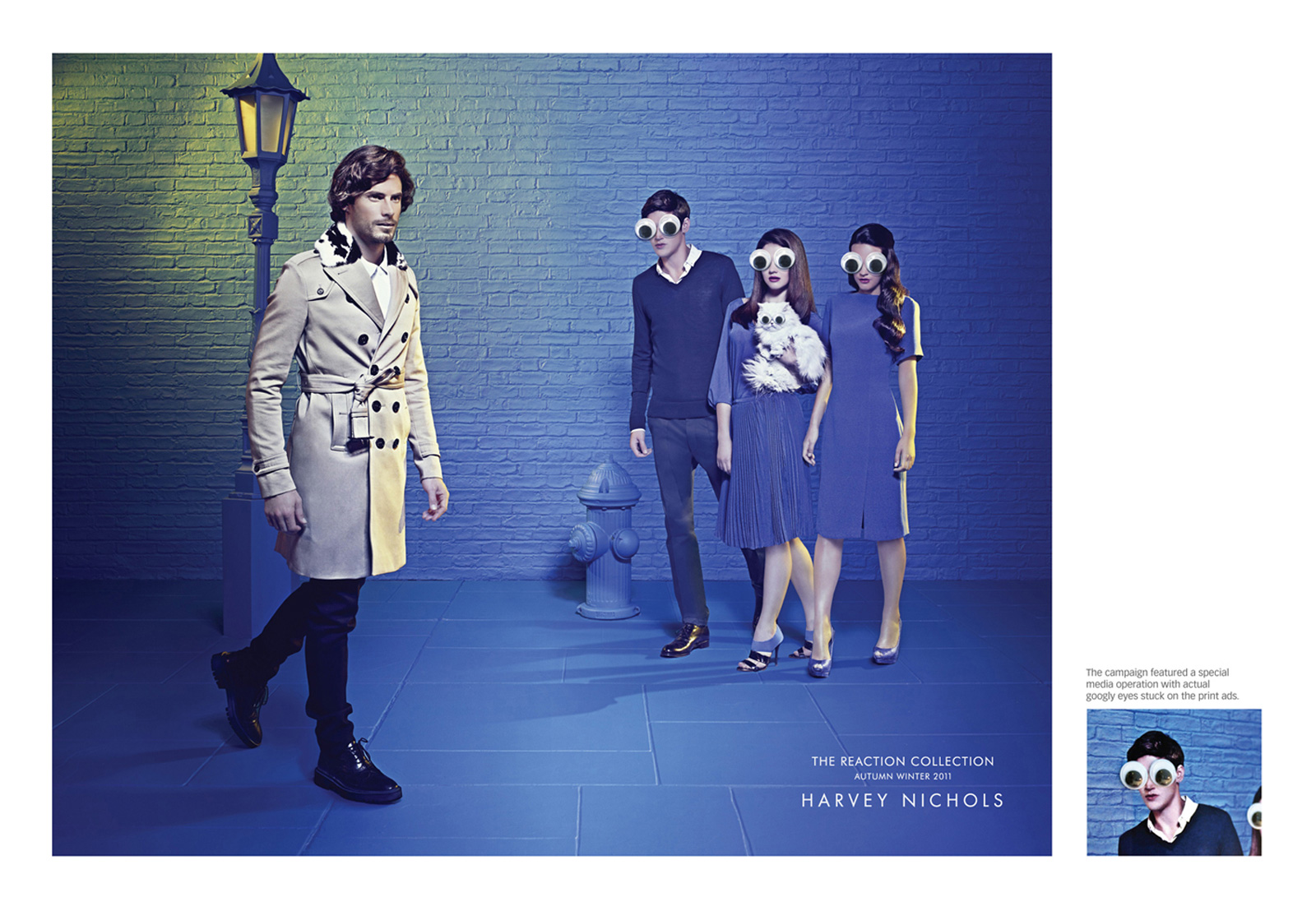 street googly eyes1 20 Outstanding Fashion Related Print Ads