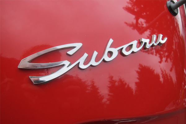 subaru 50 Classic Automobile Typography Designs