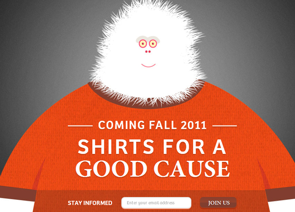 the boring machine 25 Glorious Charity and Non Profit Web Designs