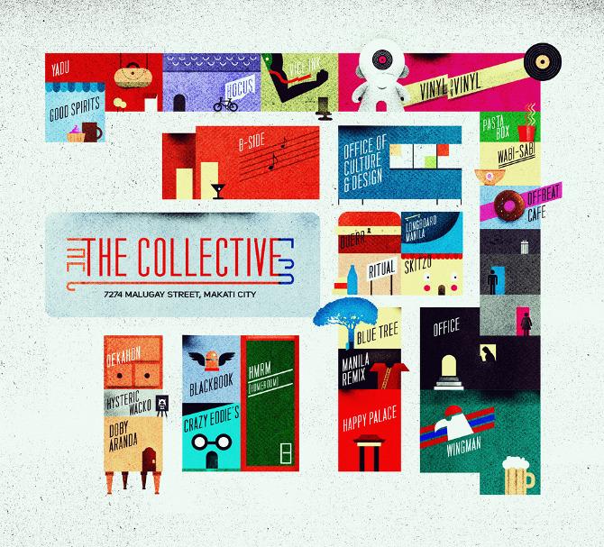 the20collective20map lores1 Beautifully Textured Artwork by Dan Matutina