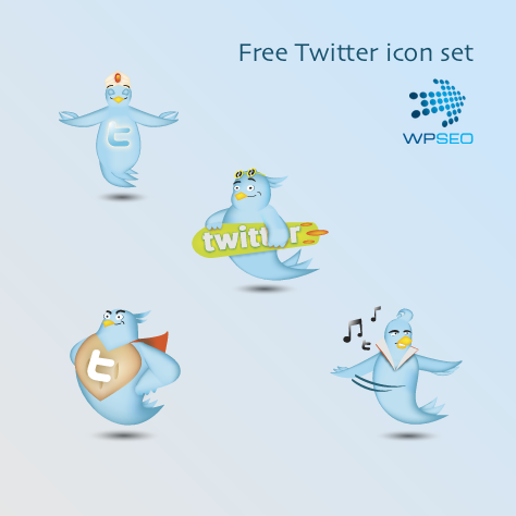 twitter icon set superman elvis surfer meditation1 45+ Delicious Free Twitter Icons and Resources