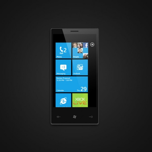10 windows phone 7 psd 600x6001 20+ Free Windows Phone 7 Mockup and Wireframing Resources