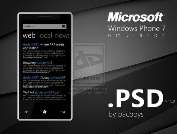 12 windows phone 7 emulator 600x4531 20+ Free Windows Phone 7 Mockup and Wireframing Resources