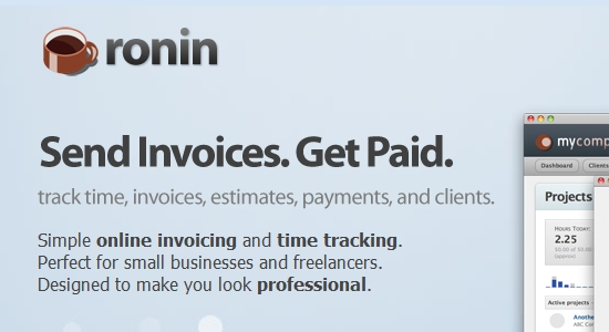 2  ronin app1 7 Awesome Cloud Based Invoicing Softwares Accessible from Google Apps