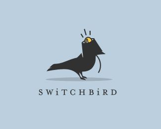 280eab7da73c14e8f5cf7fb5f049779c1 55 Pleasant Examples of Bird Logo Designs