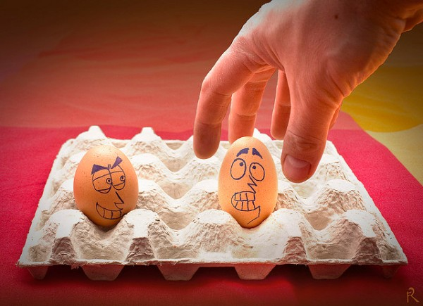 3472004976 69a68d285c z1 30 Examples of Funny and Creative Egg Photography