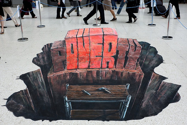 3d 461 30 Impressive 3D Sidewalk Chalk Artworks