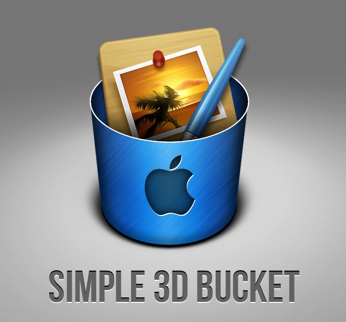 3d bucket final1 10 Inspiring Pixelmator Tutorials from PXM Tuts