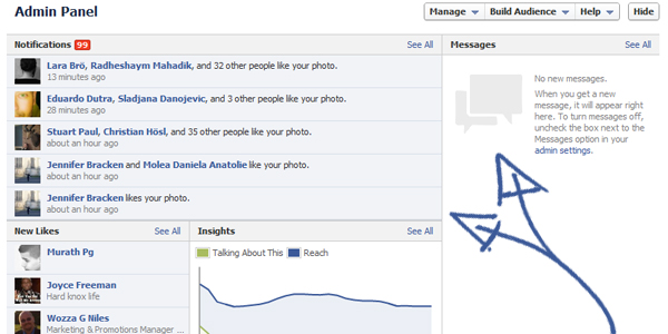 admin panel facebook New Facebook Timeline for Brands: Rookie to Pro Guide