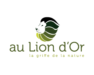au lion d or1 50 Fierce Examples Of Lion Logos