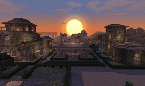 babylon city 1 600x3561 40 Outstanding Minecraft Creations