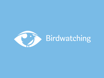 birdwatching1 55 Pleasant Examples of Bird Logo Designs
