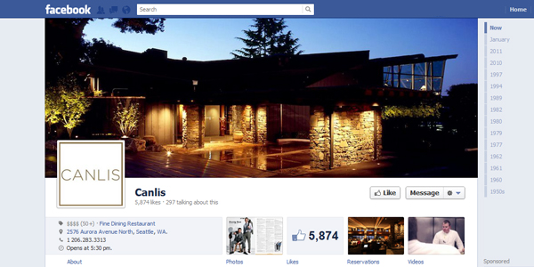 canlis New Facebook Timeline for Brands: Rookie to Pro Guide