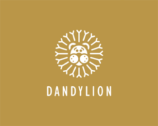 dandylion1 50 Fierce Examples Of Lion Logos