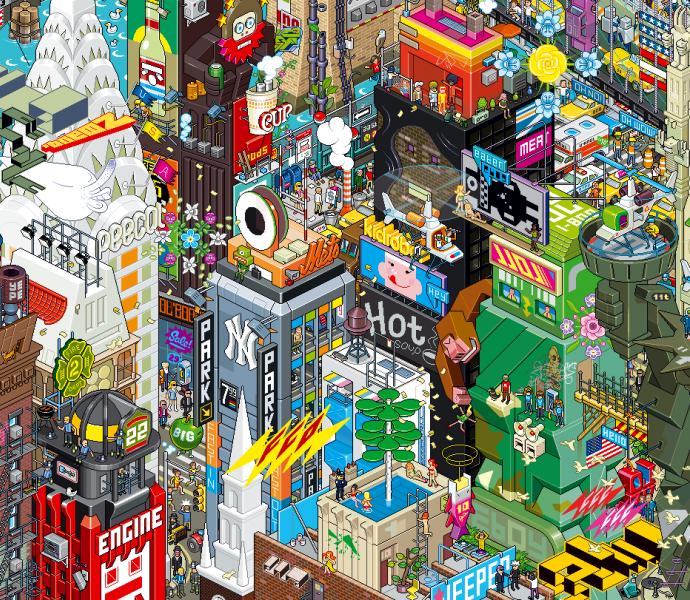 eboy newyork1 10 Inspiring Pixelmator Tutorials from PXM Tuts