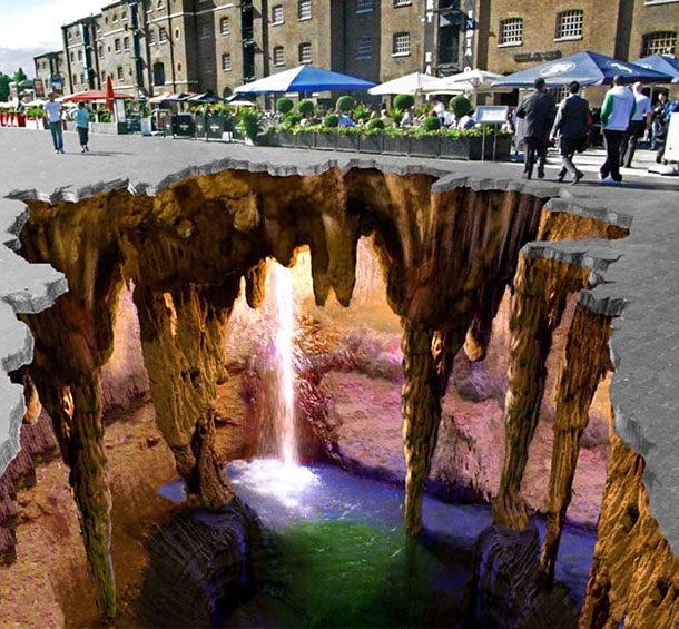 edgar mueller street art 11 30 Impressive 3D Sidewalk Chalk Artworks
