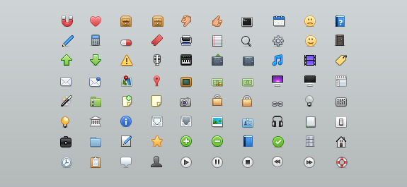 free symbols and mini web icons 021 20 Free Professional Icon Sets For Download