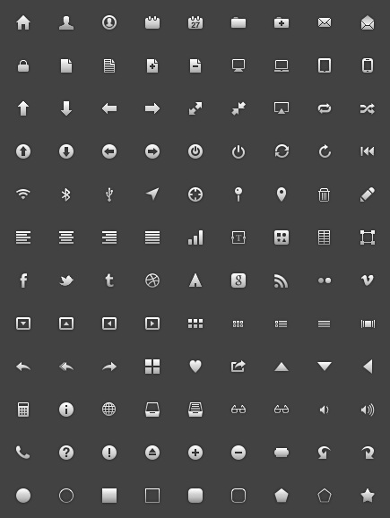 freecns 171 20 Free Professional Icon Sets For Download