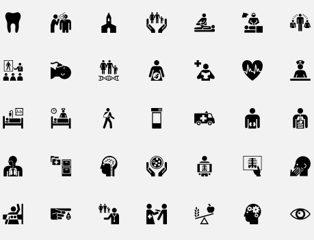 health care symbols The Noun Project: Best Things in Life Really are Free