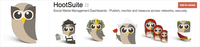 hootsuite 21 25 Great Examples of Google Plus Brand Pages