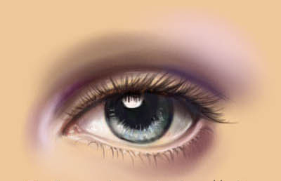 how to draw an eye digital tutorial 611 Tutorial Roundup: How To Draw People
