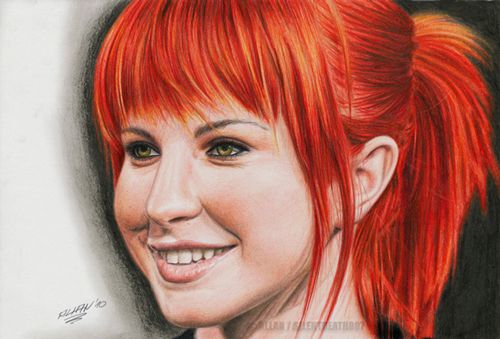 how to draw people colored pencil portrait1 Tutorial Roundup: How To Draw People
