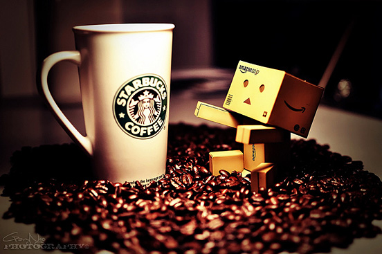 i want some coffee l11 45 Captivating Photos of Amazons Mascot Danbo