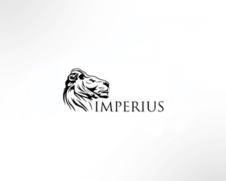 imperius1 50 Fierce Examples Of Lion Logos