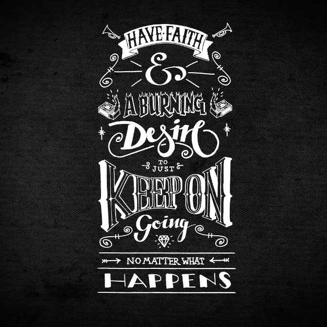 ipad51 50 Remarkable Examples Of Typography Design #7