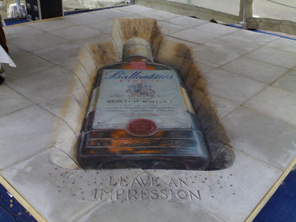 julian beever street art 71 30 Impressive 3D Sidewalk Chalk Artworks
