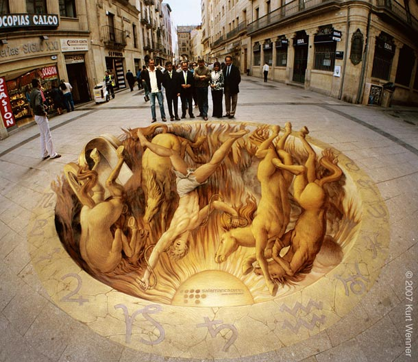 kurt wenner street art 211 30 Impressive 3D Sidewalk Chalk Artworks