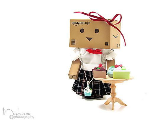 lady l1 45 Captivating Photos of Amazons Mascot Danbo