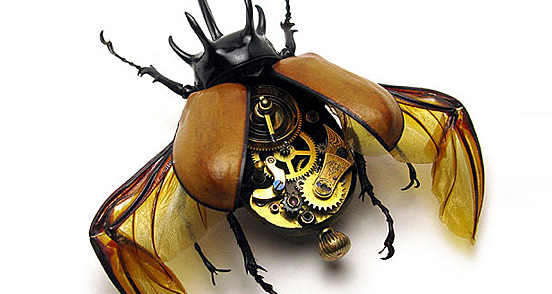mechanical insect l1 40 Entertaining Animal Photo Manipulations