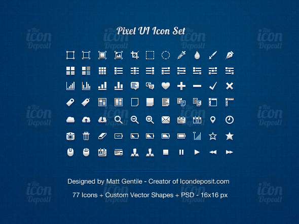 pixel ui icon set id1 20 Free Professional Icon Sets For Download