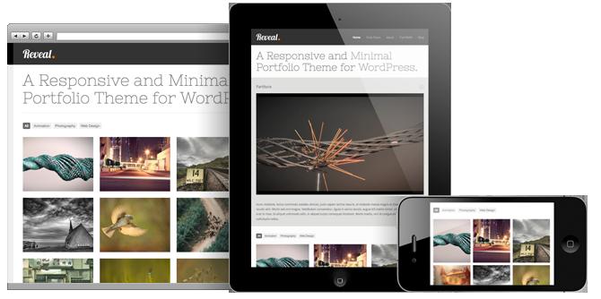 responsive wordpress portfolio themes 031 40 Premium Responsive Portfolio WordPress Themes