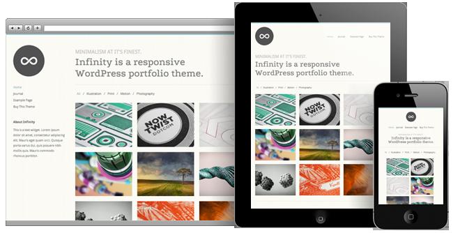 40 Premium Responsive Portfolio WordPress Themes | Inspirationfeed