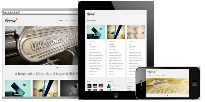 responsive wordpress portfolio themes 051 40 Premium Responsive Portfolio WordPress Themes