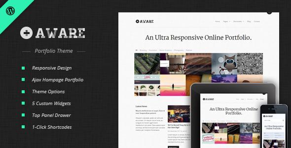 responsive wordpress portfolio themes 071 40 Premium Responsive Portfolio WordPress Themes