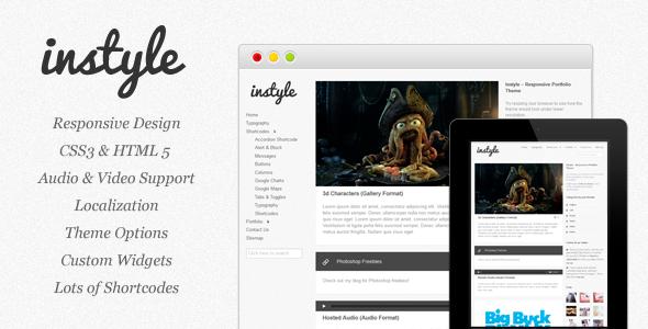 responsive wordpress portfolio themes 081 40 Premium Responsive Portfolio WordPress Themes